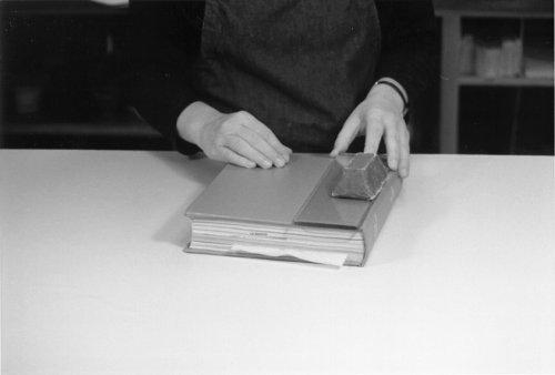 Three Basic Book Repair Procedures 3 The Book Arts Web